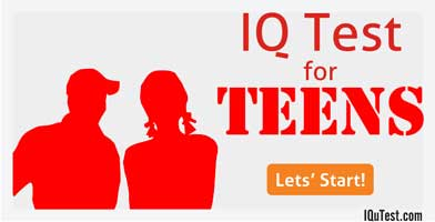 IQ Test for Teens