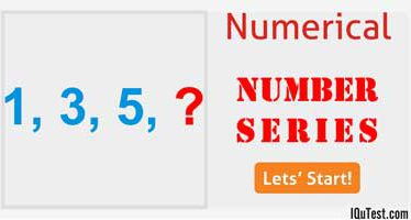 Numerical Test [Number Series]