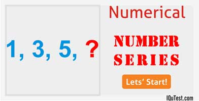 IQ Test Numerical Number Series