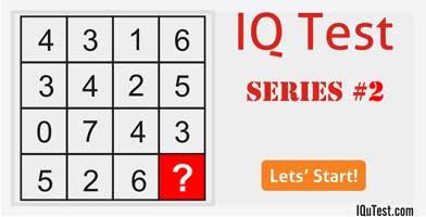 IQ Test Series #2