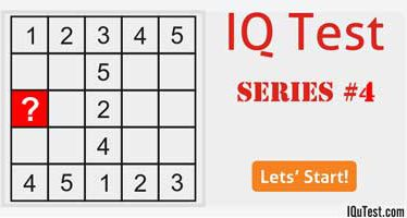 IQ Test Series #4