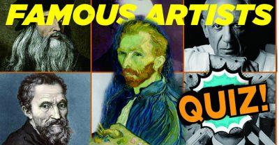 Famous Artists Quiz
